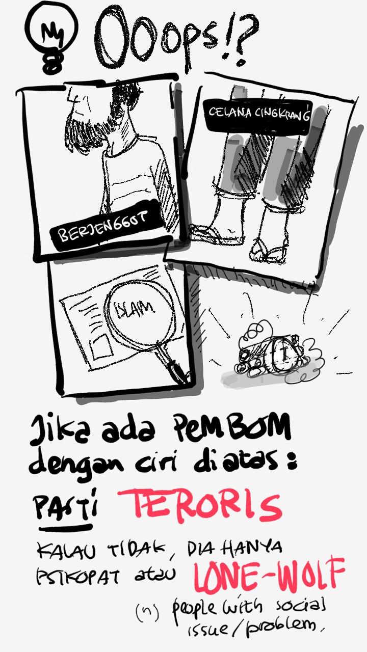 Karikatur Berbagi Kisah